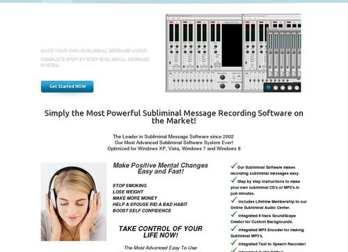 Subliminal Recording System 9.0