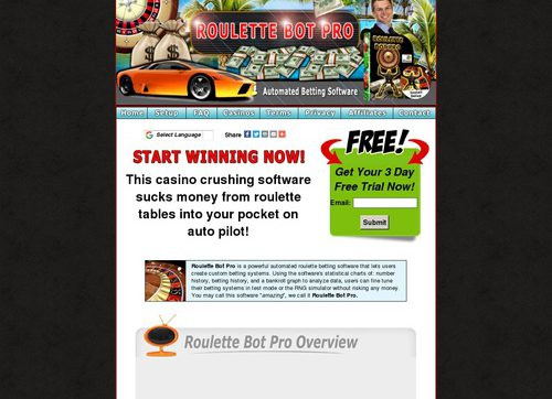 Roulette Bot Pro – Automated Roulette Betting Software