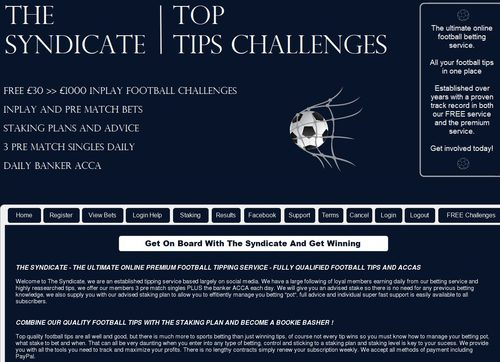 The Syndicate – Professional Sports Betting Tips And Acca's