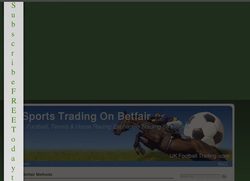 Betfair Trading Strategies – My Full-time Methods