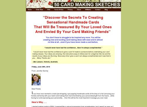 50 Card Making Sketches