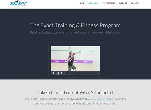 Squashfit- Squash Training & Fitness Coach