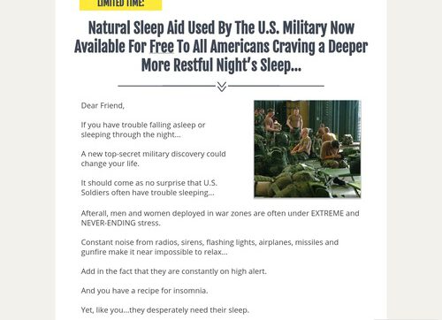 Try The Hottest Premium Sleep Aid For Free