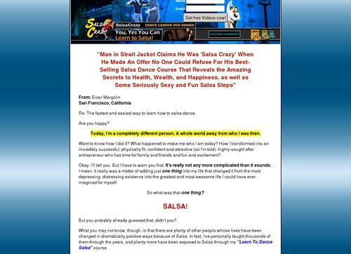 Salsa Dancing 101: Instructional Salsa Dance Step-by-step Course