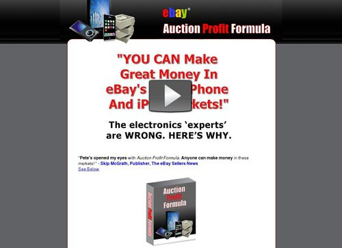 Auction Profit Formula