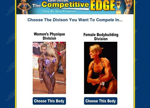The Competitive Edge – Female Bodybuilding Contest Secrets