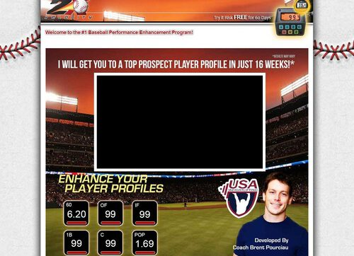 Baseball – Develop A Top Prospect Player Profile – 2x Velocity