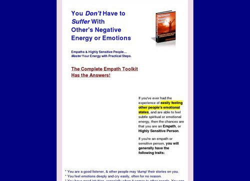 The Complete Empath Toolkit: New Age Ebook & Audio Seminar Package