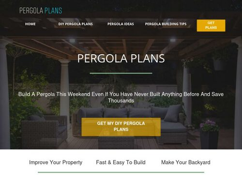 Pergola & Sun Trellis Plans…insane Conversions With 1 Click Upsells!