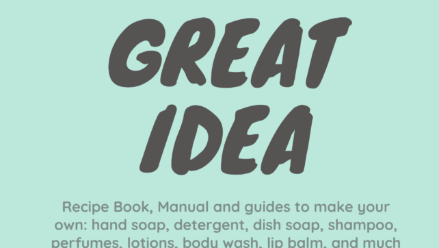 Learn How To Make Your Own Handsoaps, Dishsoap, Detergent Much More