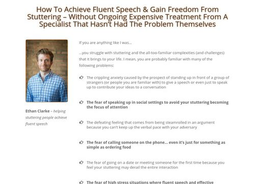 Fluent Freedom: A Painfree Guide To Conquer Stuttering