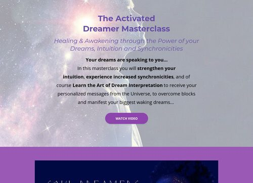 The Activated Dreamer: Dream Interpretation Masterclass