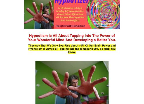 The Hypnotizer – Everything You Need For Self Hypnosis/guided Hypnosis