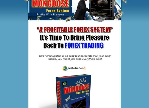 Mongoose Forex System + Alerts E-mail. Profit Generating. New